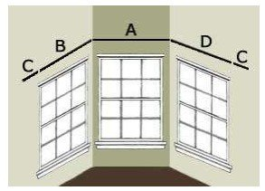 Bay Window Treatment Installation