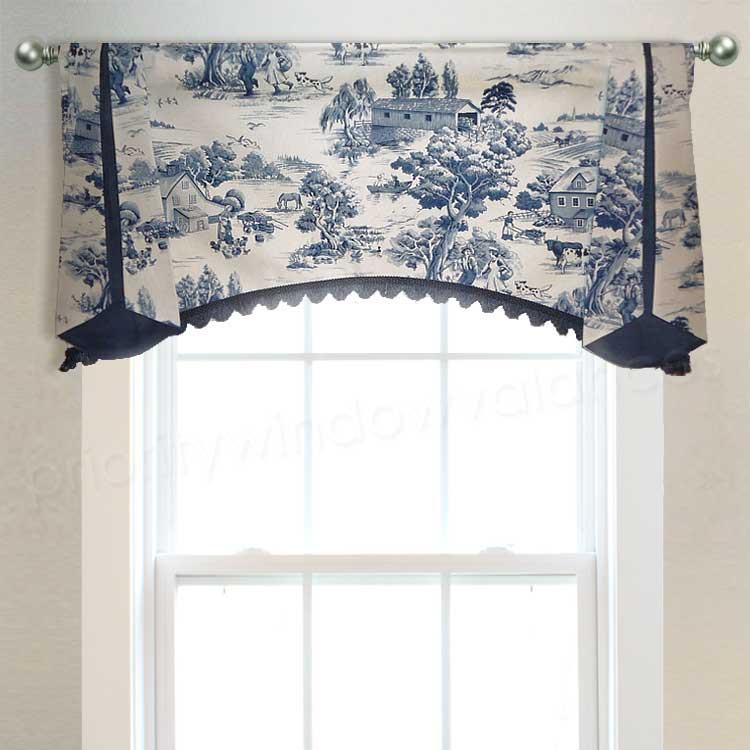 Arched Farmhouse Valance
