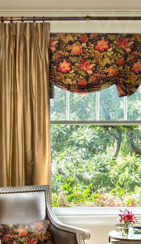 Butterfly Valance Curtain
