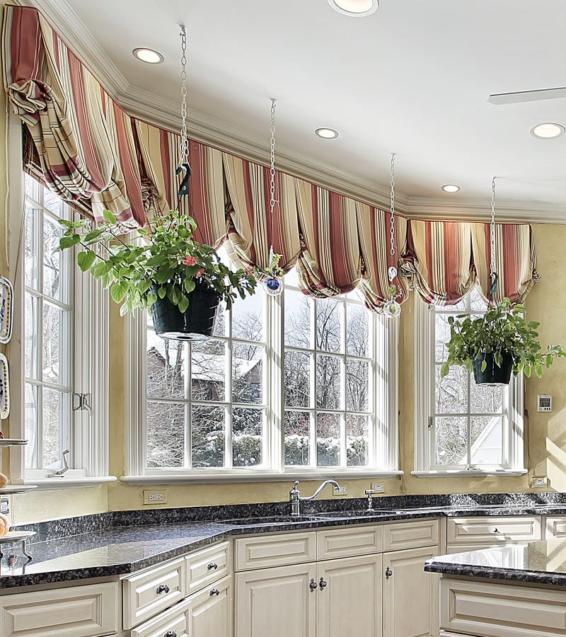 Valance Ideas For Bay Windows And Bow