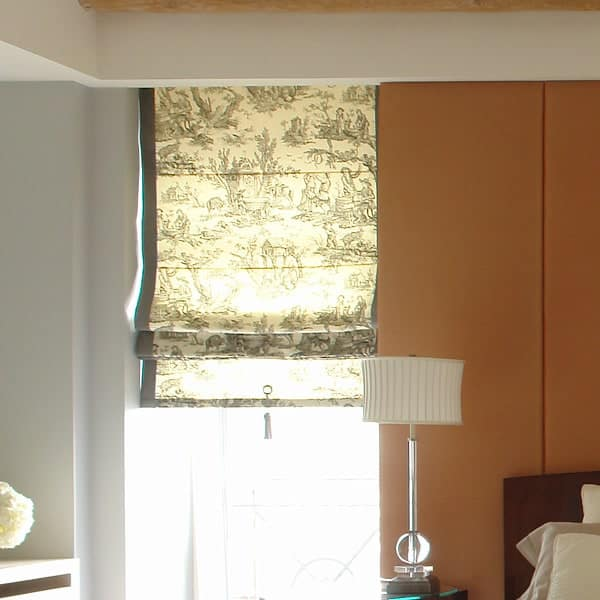 Toile Bedroom Shade