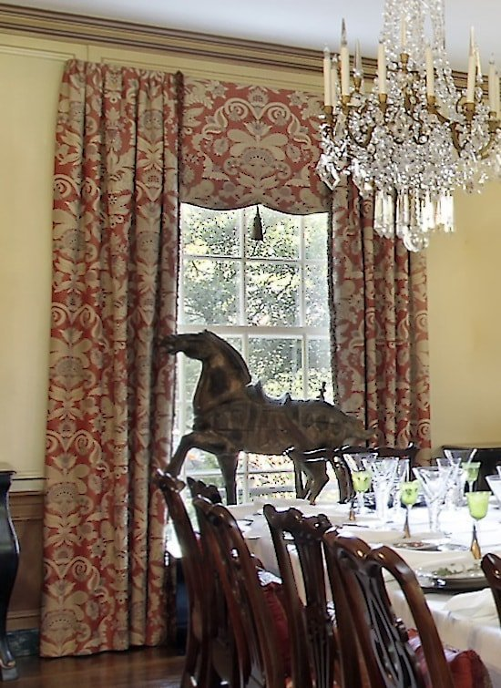 13 Window Treatment Ideas For Formal Dining Rooms Pwv