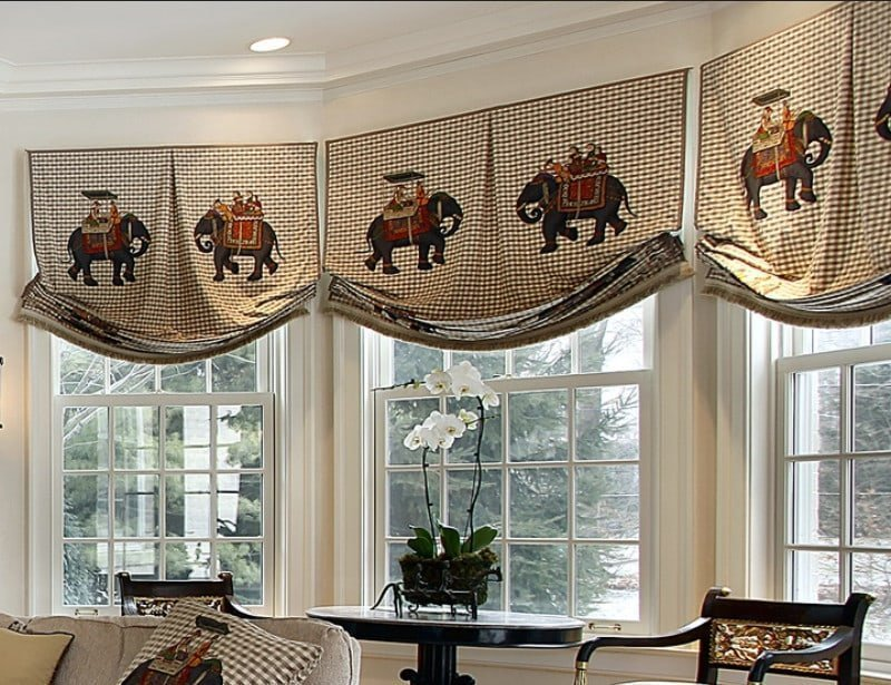 Valance Ideas For Bay Windows And Bow Windows