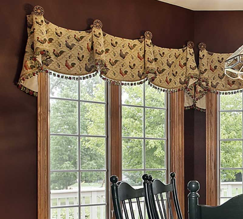 6 Design Rules For Valances Hung On Medallions Knobs