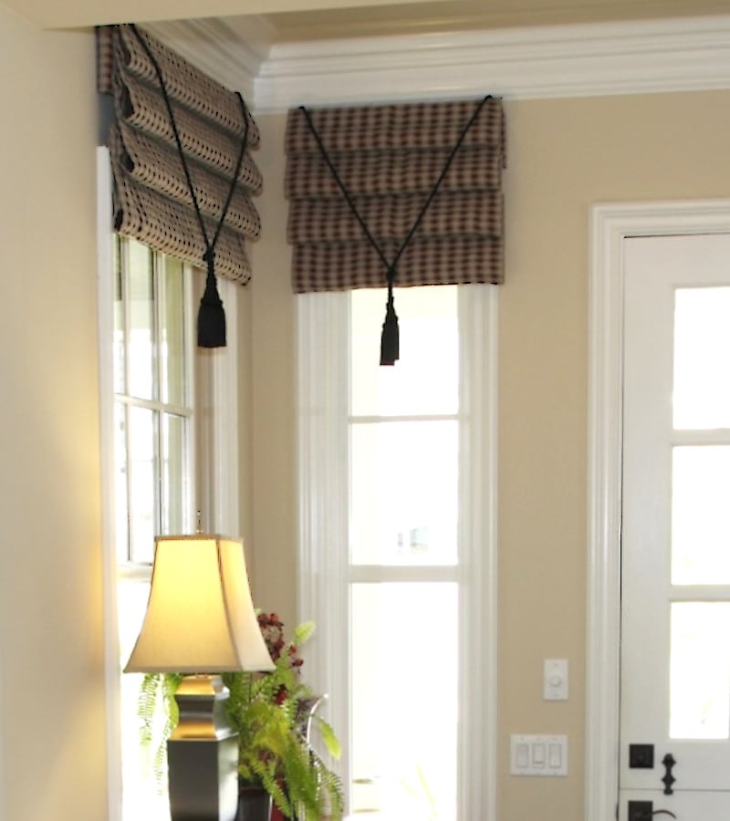 Sidelight Window Valance