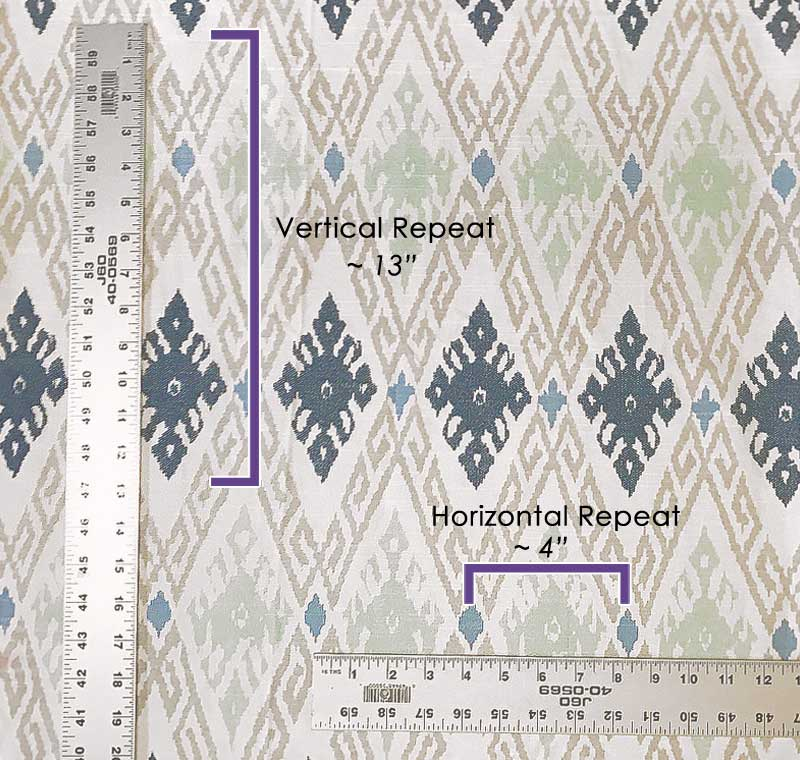 Fabric Pattern Repeat Home Decor Explained