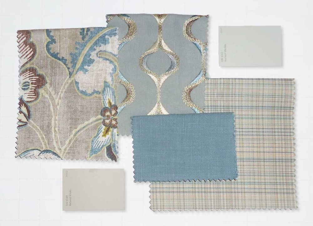 Color and Fabric Combinations