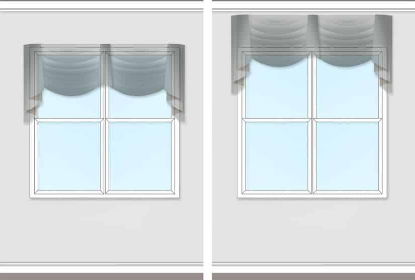 Proper Way to Hang a Valance Curtain